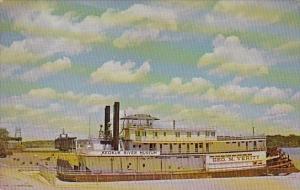 Iowa Keokuk Towboat George M Verity Keokuk River Museum