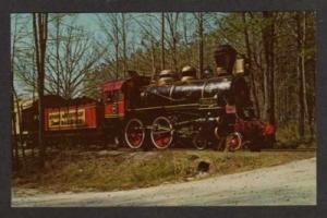 GA Texas II Railroad Train STONE MOUNTAIN GEORGIA RR PC