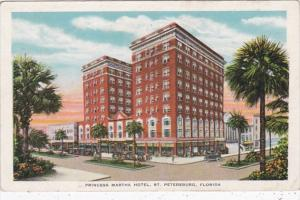 Florida St Petersburg Princess Martha Hotel