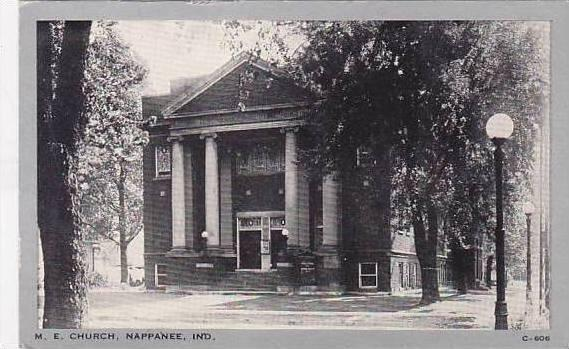 Indiana Nappanee M E Church