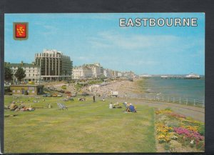 Sussex Postcard - Seafront From The Wish Tower, Eastbourne   RR7078