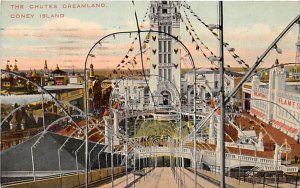The Chutes, Dreamland Coney Island, NY, USA Amusement Park 1911