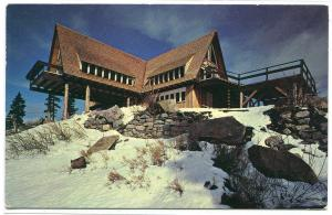 Grouse Mountain Chalet North Vancouver BC Canada postcard