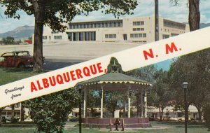 ALBUQUERQUE , New Mexico , 50-60s; Greetings, Johnson Gymnasium & Old Town Plaza