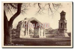 Postcard Old St Remy de Provence