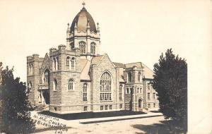 Bloomington Indiana ME Church Real Photo Antique Postcard K103784