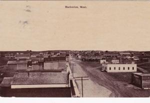 HARLOWTOWN , Montana , PU-1909 ; Street view