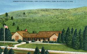 SD - Wind Cave National Park Administration Building