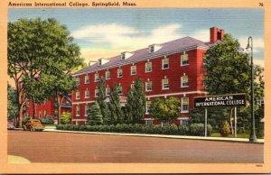 Massachusetts Springfield American Inteenational College