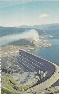 Air view, Bennett Dam,  B.C.,  Canada,  40-60s