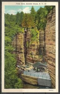 New York, Ausable Chasm - Table Rock - [NY-107]