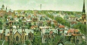 Postcard Early Birds Eye View of Grand Rapids, MI.             S2