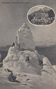 Chamonix-Mont-Blanc , France , 00-10s ; Ascension d'un serac