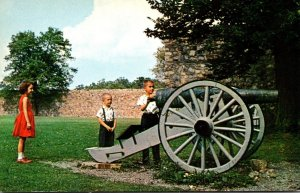 Maryland Washington County Old Fort Frederick Interior View