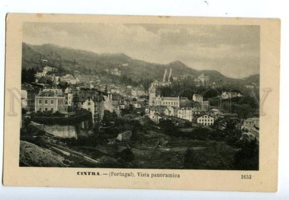 138261 Portugal CINTRA SINTRA Vista panoramica Vintage PC