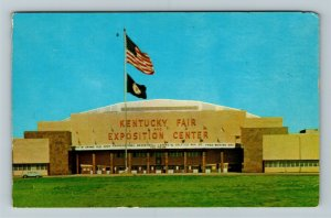 Louisville KY-Kentucky, Coliseum, Kentucky State Fair Exposition Chrome Postcard