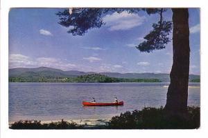Canoeing, Newfoundland Lake, Bristol, New Hampshire, Photo Geo French