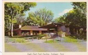 Iowa Dubuque Eagle Point Park Pavilion 1971