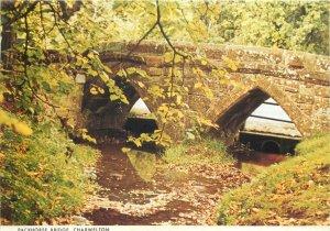 UK Postcard England Charwelton Packhorse Bridge