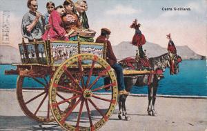 Family, Man playing a piccolo, Carro Siciliano, Italy, 00-10s