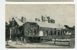 Vintage Postcard Restaurant WATERGATE INN Washington DC Potomac River F St.