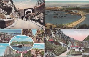 Gibraltar Governors Cottage Europe Pass Neutral Ground 4x Postcard s
