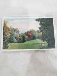 Antique Postcard entitled, Down the Potomac. From Mt. Vernon  70787