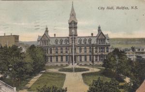 HALIFAX, Nova Scotia, Canada, 1907 ; City Hall