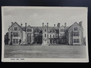 Sussex PARHAM HOUSE & PARK - Old RP Postcard