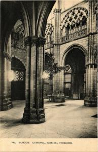 CPA Burgos Catedral, Nave del Trascoro SPAIN (744037)