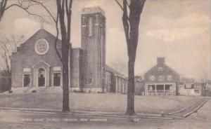 New Hampshire Lebanon Sacred Heart Church Artvue