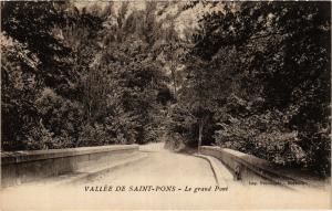 CPA VALLÉE DE St-PONS Le grand Pont (411187)