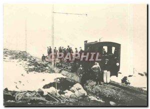 Postcard Modern Tram BGVC Dampflok HG March 2, 10 Louise