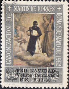 Peru #C199  w/ OP - Non-Compulsory Postal Tax Stamp Used