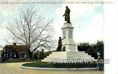 Roger Williams Statue - Providence, Rhode Island