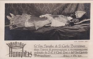 RP: HUMILITAS , Le Ven. Spoglie di S. Carlo Borromeo, MILANO , Italy , 1926