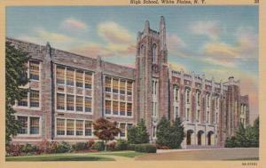 New York White Plains High School Curteich