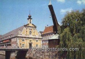 Alter Kran und Kaufhaus Luneburg Germany Unused