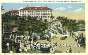 Panama Canal Zone Tivoli Hotel, Festival Day
