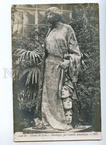 189459 Mensonges ART NOUVEAU Mask by ALAPHILIPPE old SALON PC