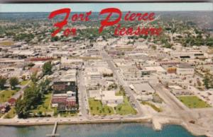 Florida Aerial View Of Fort Pierce