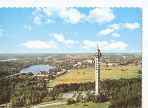 Postal 034715 : Stockholm. Air Panorama over the Kaknas Tower and the city