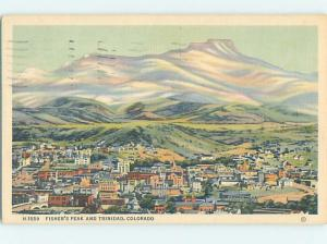 Linen PANORAMIC VIEW Trinidad Colorado CO i1218