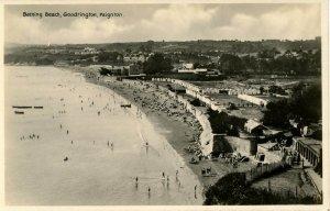 UK - England, Goodrington, Paignton. Bathing Beach     RPPC