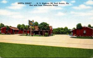 Florida Gulf Breeze Siesta Court
