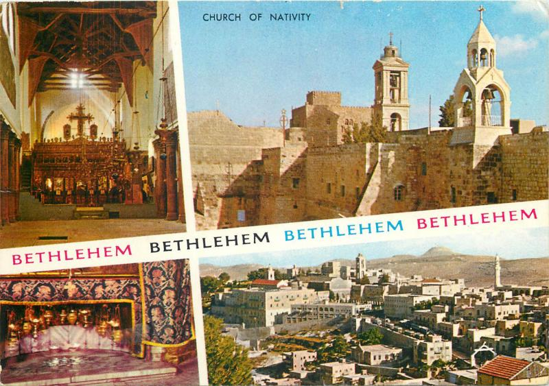 Israel Bethlehem 1971 multi views