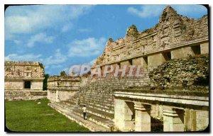 Postcard Old Uxmal Yucatan Mexico
