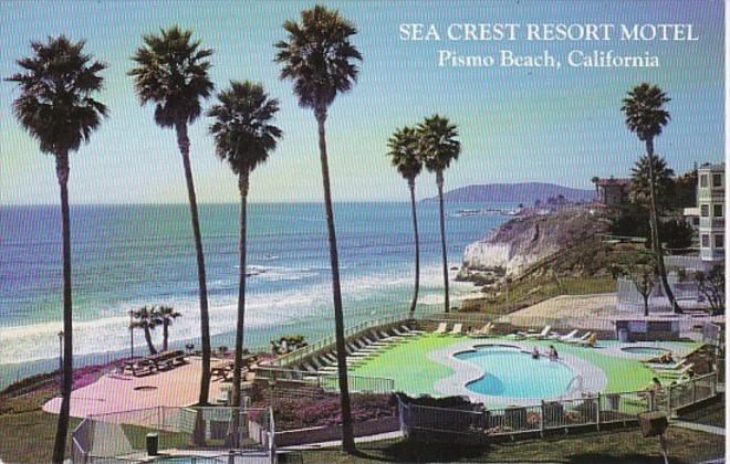 California Pismo Beach Sea Crest Resort Motel
