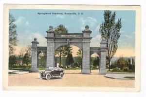 Springwood Cemetery, Greenville, South Carolina, 00-10s
