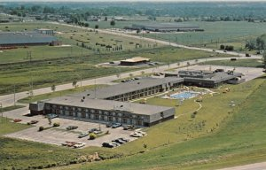 BRANTFORD, Ontario, Canada, 1940-60s; Holiday Inn, Hwy. 403 and Park Road